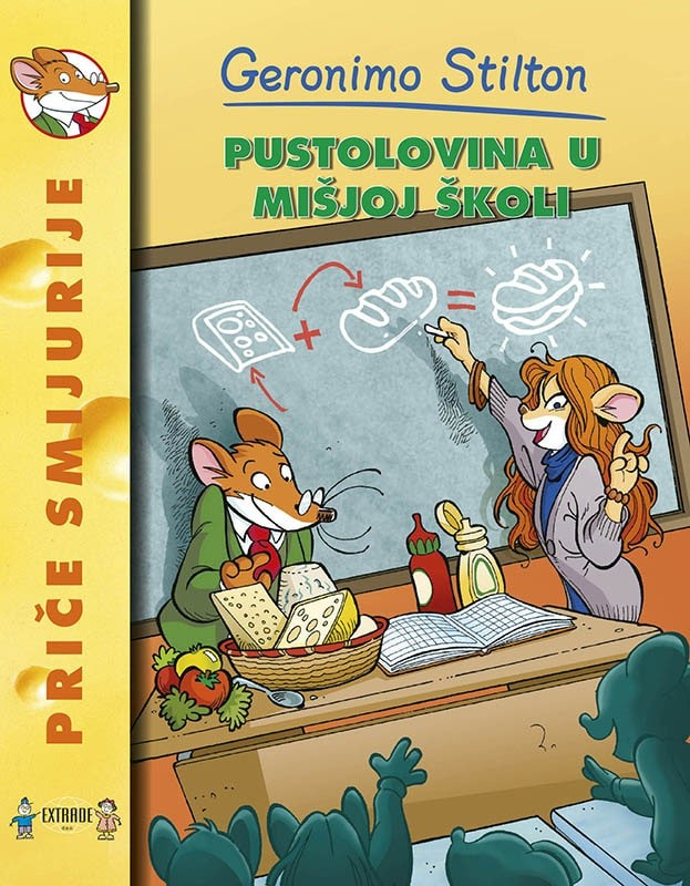 Pustolovina u mišjoj školi - meki uvez